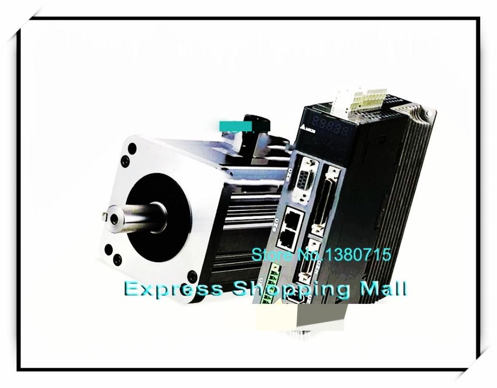 ECMA-C10401HS ASD-A2-0121-F AC Servo Motor & Drive kits 100w 3000r/min ECMA-C10401HS + ASD-A2-0121-F new original detla servo driver 220v 100w 0 32nm 3000rpm a2 ecma c10401hs