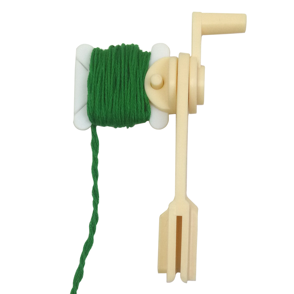 30 stk. Plastfibre og håndtråd Tråd og snorwinder Bobbins for Storage Holder Cross Stitch Sy Supplies