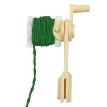 30pcs Plastic Floss&Craft Thread Bobbins&String Winder Bobbins for Storage Holder Cross Stitch Sewing Supplies