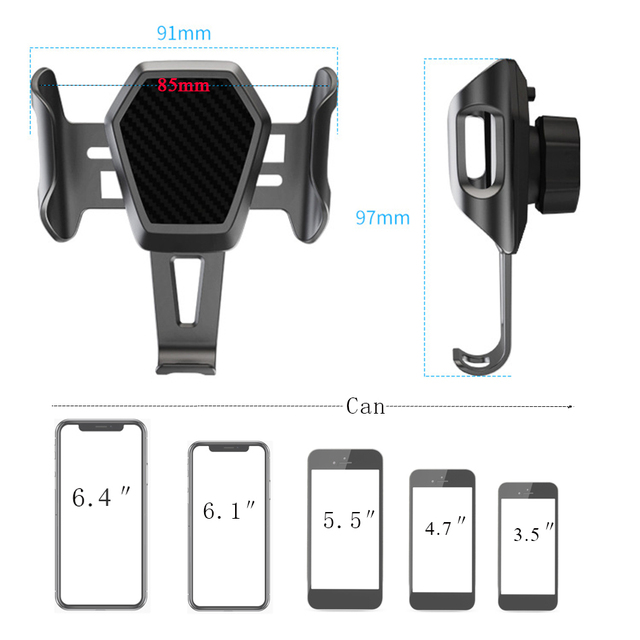 Car Suporte Porta Celular Universal Soporte Auto Mobile Car Holder Cell Phone Stand support Smartphone Voiture Car Phone Holder