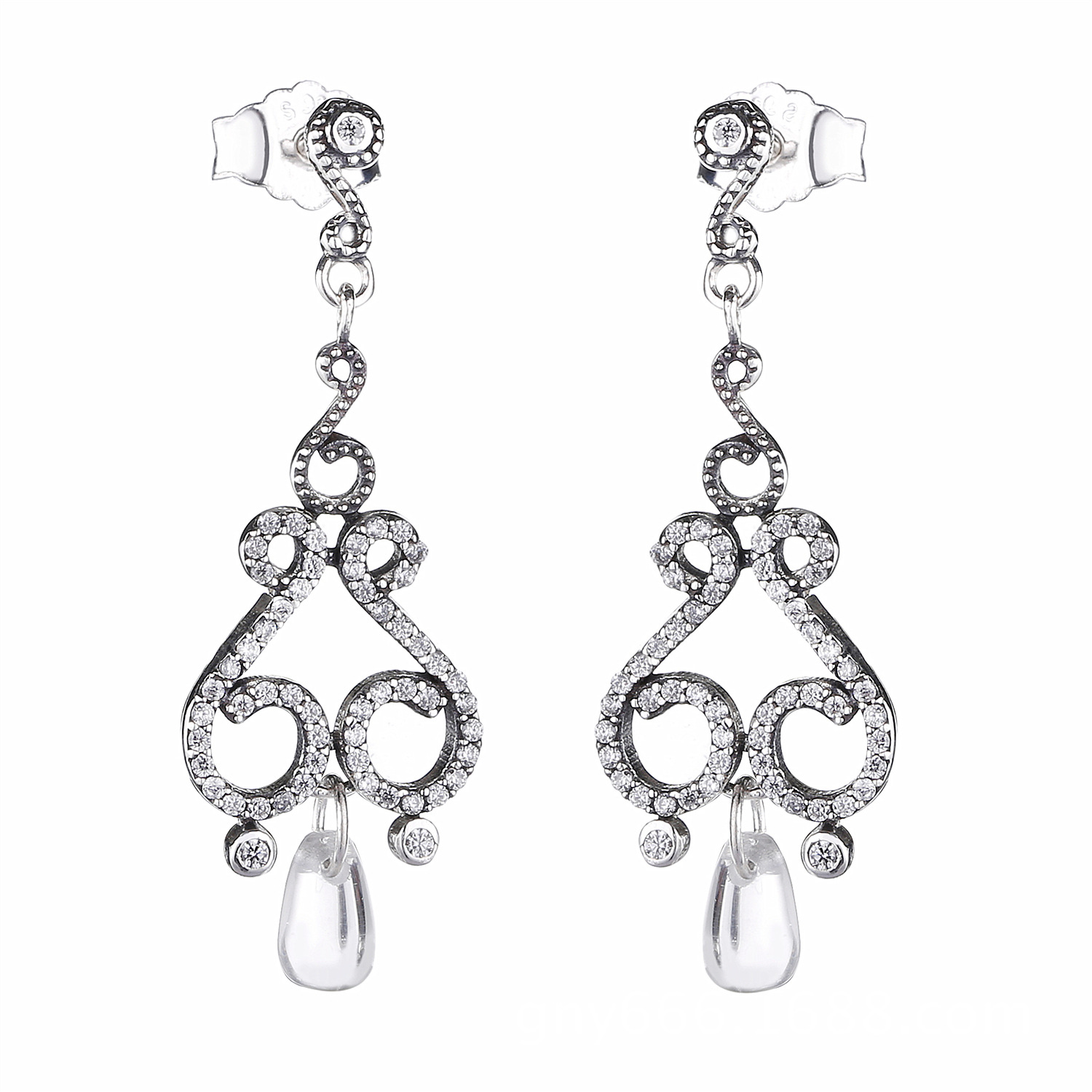 Pandora Drop Earrings: 2018 Spring 925 Sterling Silver Original Chandelier