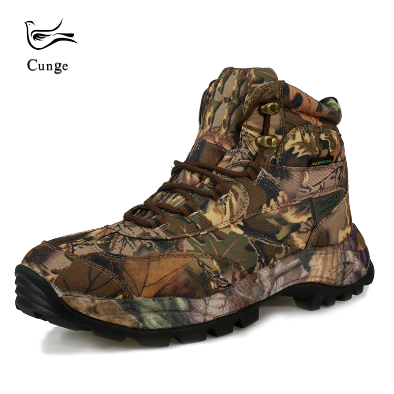 6 Colors Men Outdoor Waterproof Hiking Shoes Military Army Combat Tactical Shoes Boots Fishing Climbing Camouflage