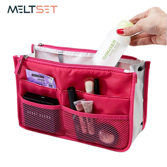 b96d08e92 2018 New Women s Fashion Bag in Bags Cosmetic Storage Organizer Makeup  Casual Travel Handbag Men s Cosmetic Pouch Toiletry Bags