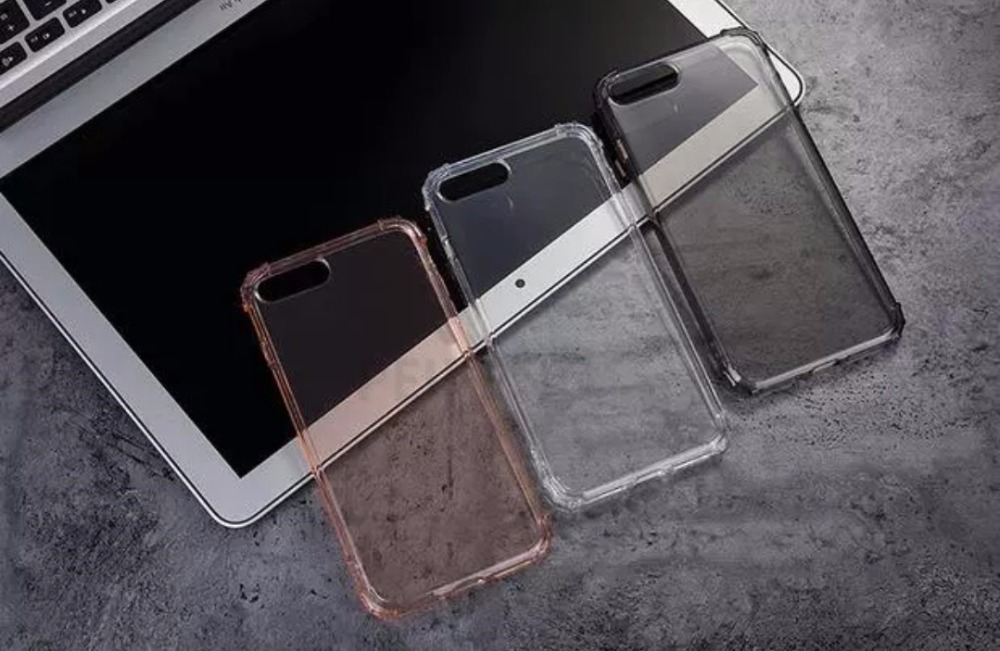 PEIPENG  Luxury phone CaseThickened anti-fall For iPhone XS MAX XR X Ultra Thin Transparent Back Case For iPhone 6 6s 7 8Plus Simple 14