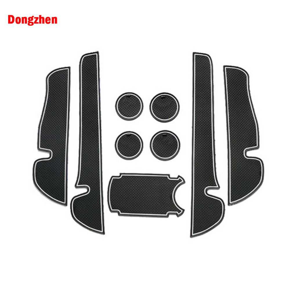 small resolution of dongzhen 9pcs for toyota verso ez 2011 2015 car interior accessories anti slip mat silicone pad door groove pad cushion auto