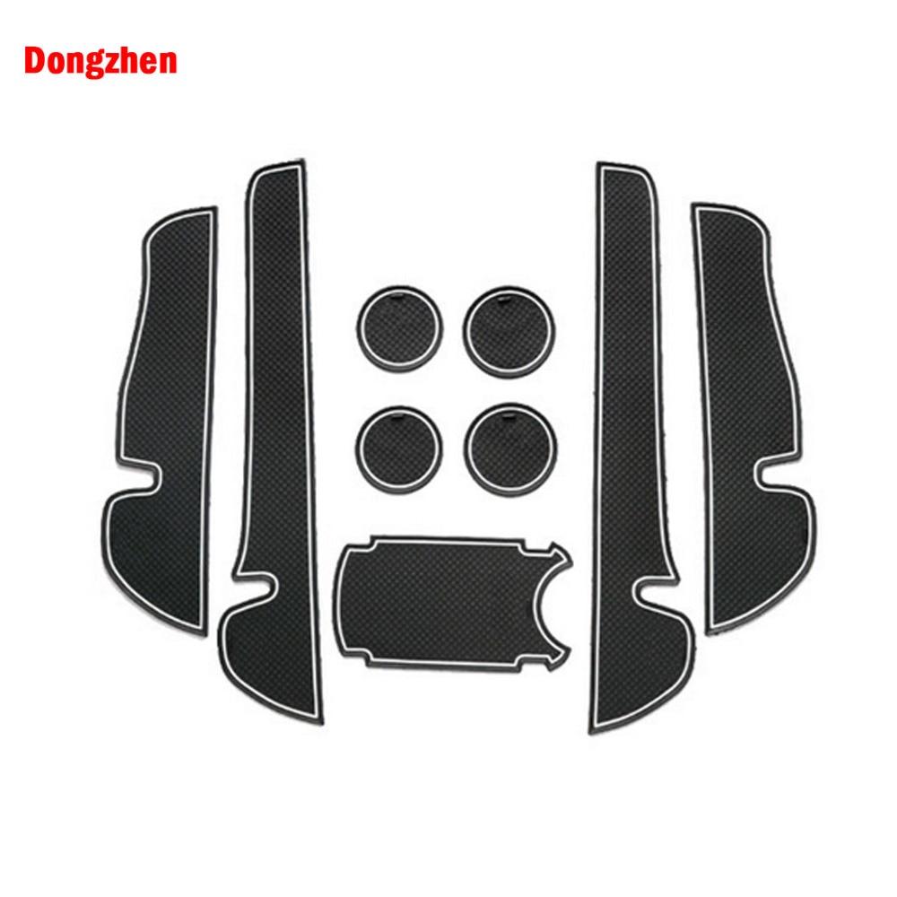 dongzhen 9pcs for toyota verso ez 2011 2015 car interior accessories anti slip mat silicone pad door groove pad cushion auto [ 1000 x 1000 Pixel ]