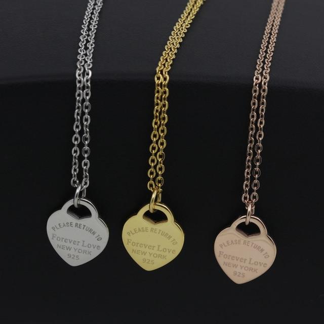 Купить модные роскошные от известной марки любовный ожерелье для женщин картинки