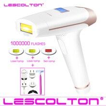Lescolton 4in1 IPL эпилятор постоянное лазерная эпиляция ЖК дисплей 1000000 импульсов depilador лазерный бикини фотоэпиляторы