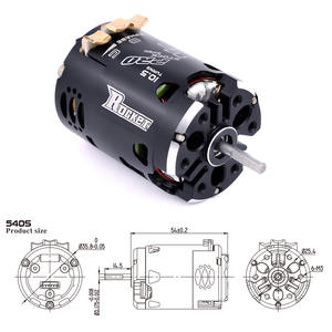 Image 4 - Rocket 540 V3 Pro 3.5T 4.5T 5.5T 6.5T 7.5T 8.5T 9.5T Sensored Brushless Motor for Modified Competition 1/10 1/12 F1 RC Drift Car