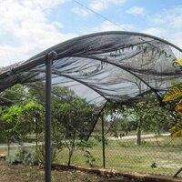 40% Ландшафтный солнцезащитный крем парус сетка солнцезащитный крем Ткань УФ сад и растительная теплица теневая панель сарай крышка