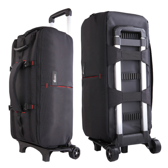 Photo Camera Nylon Shoulders Backpack Trolley Case Thick Padded Tripod Case  Waterproof for Canon Nikon DSLR 92f77c2070