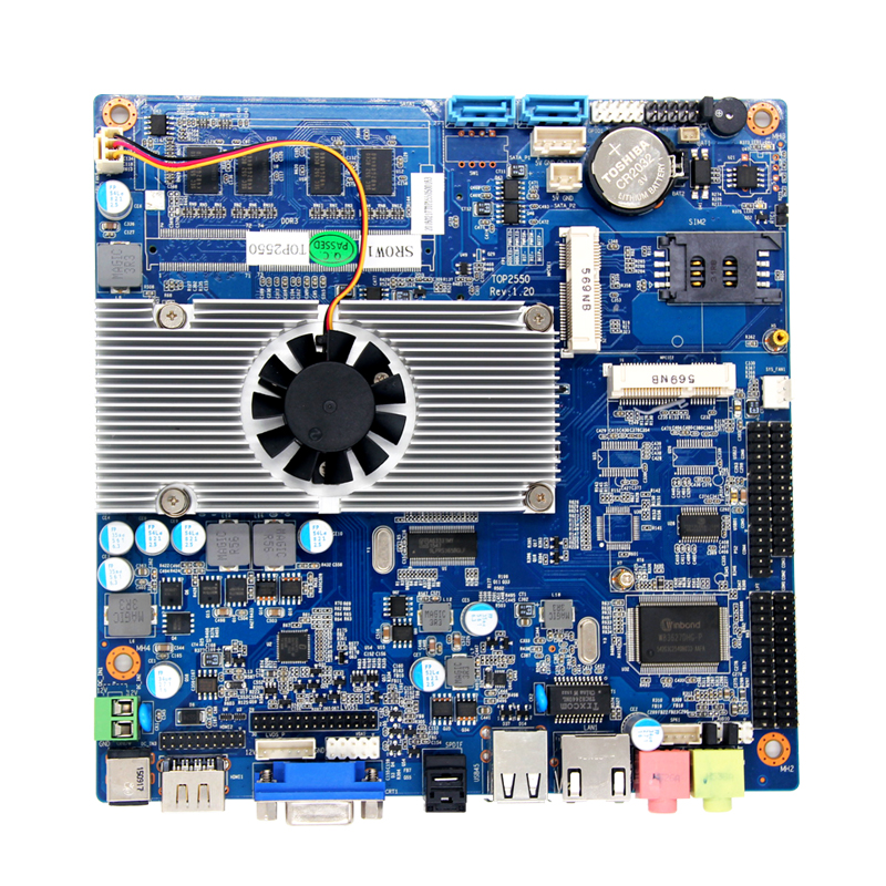 lvds mini itx motherboard high discount mini computer Top2600 motherboard with Integrated Intel GMA3650 Graphics Core m945m2 945gm 479 motherboard 4com serial board cm1 2 g mini itx industrial motherboard 100