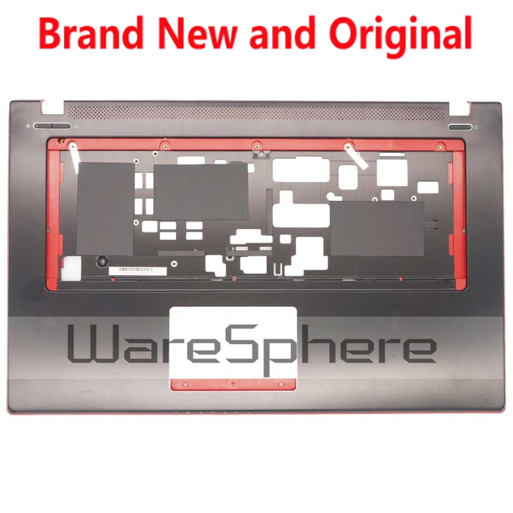 New and Original Top Cover Upper Case Without TouchPad For MSI GE70 307757C216Y31 307-757C216-Y31 Black new for msi gp62 top cover palmrest cover upper case 307 6j1c261 y31 e2p 6j10236 y31 bottom base case cover