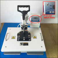 Новый многофункциональный 8 в 1 тепла Пресс передачи сублимации Пресс машины 8 в 1 для кружка Кепки Пластины Печать на футболках машина