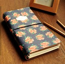 Kawaii Korean Planner Notebooks Medium Size Rural Style Organizer Recording Memos the Craft Paper Notebook
