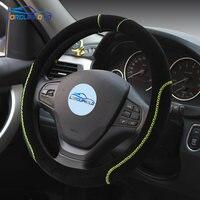 Auto Poignée de Direction Couvre Roues En Caoutchouc De Voiture Universel Pour BMW Pour Hyundai Pour Ford Focus Pour KIA VW Nissan Honda