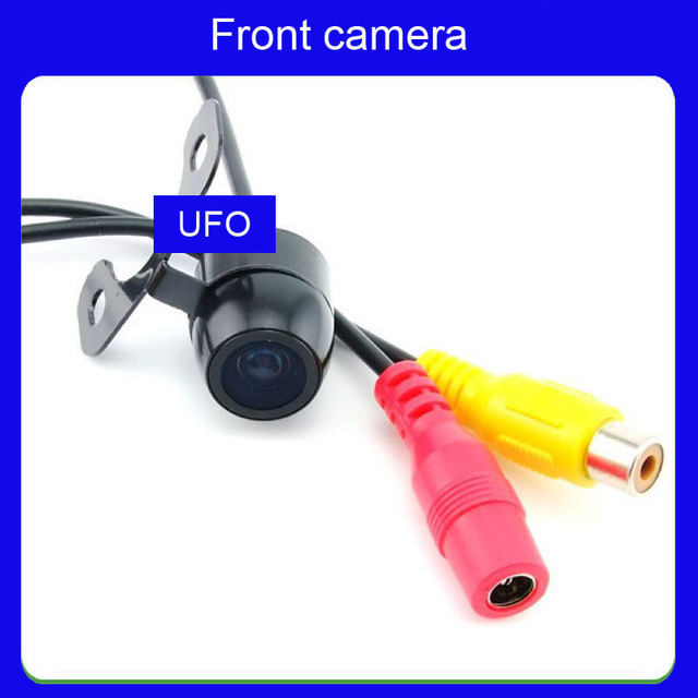 Front car camera Mini 18.5mm Car Camera reversing  170 degree angle ccd hd  free shipping AR-F-005