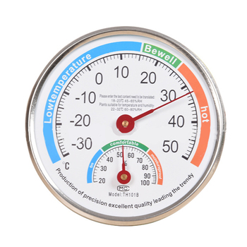 цена на -30-50℃ Thermometer Hygrometer Humidity Indoor Climate Humidity Meter Temperature Gauge For Household Supplies
