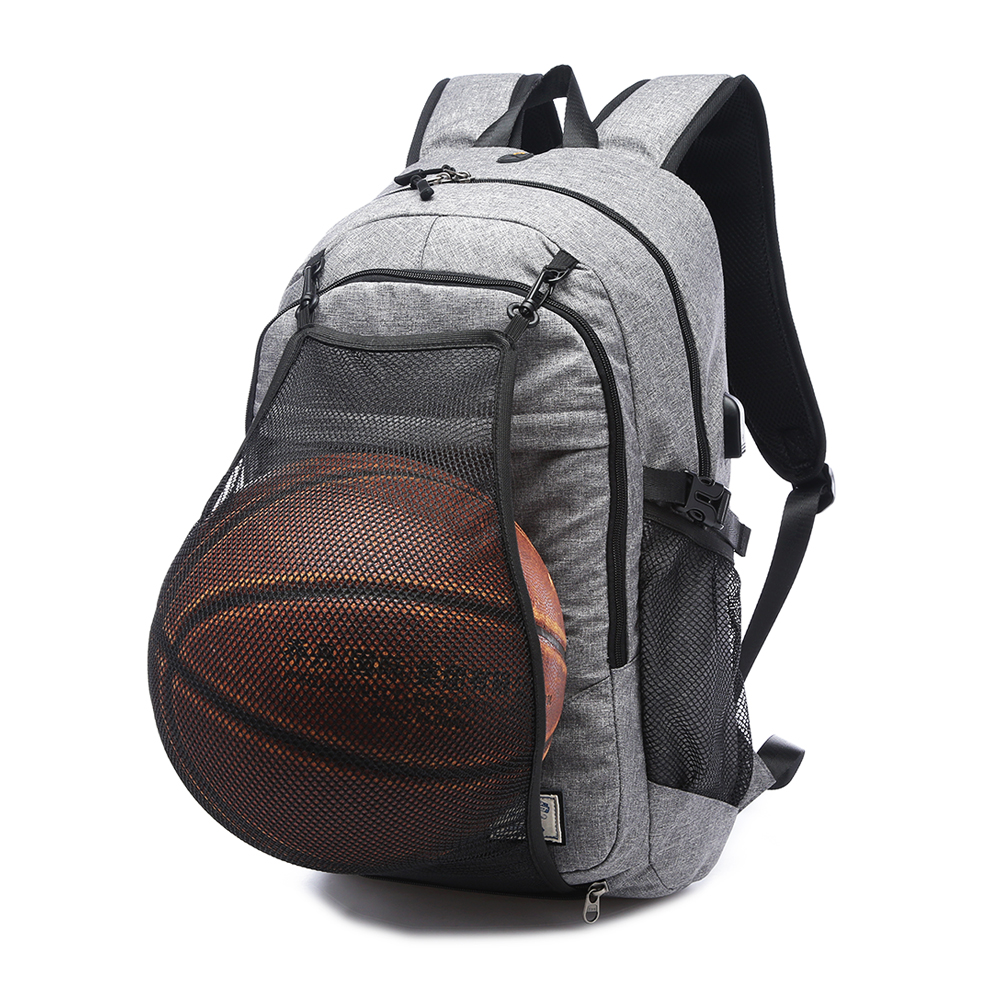 Hot Men's Sports Basketball Gym Bags Backpack School Bags For Teenager Boys Soccer Ball Pack Laptop Bag Football Net Fitness Bag