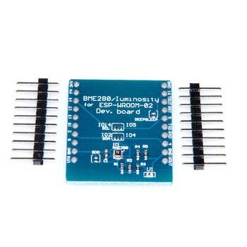 1 pc ESP8266 Placa de desarrollo WeMos D1 Esp-Wroom-02 placa base 0,96