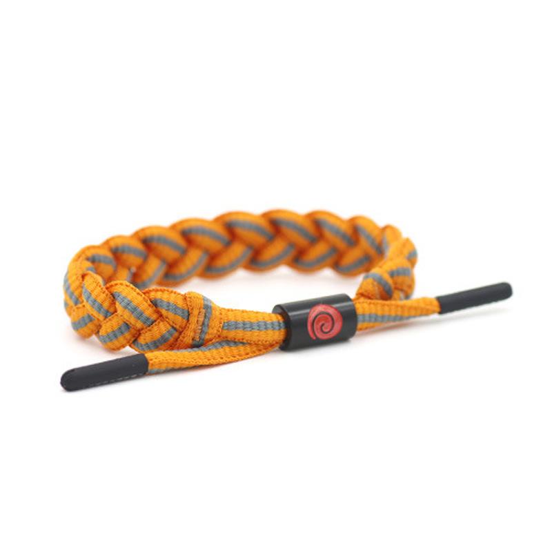 Naruto Shoelace Rope Bracelets