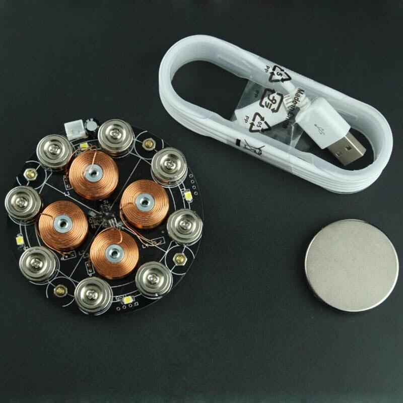 Lévitation magnétique numérique 5 V alimentation charge lourde lévitation magnétique haute efficacité économie d'énergie - 2