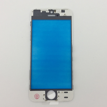 DHL shipping 100pcs/lot Replacment AAA LCD Front Touch Screen Glass Outer Lens with frame bezel parts For iphone 5 5C 5S glass