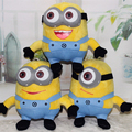 Creative 20cm Despicable Me Plush Toys Cute Yellow Minion 3D Eyes Soft Stuffed Dolls Bonecos Minions Toys for Children Gift