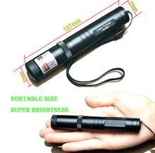 1 Unid JD 851 Verde Militar Lápiz Puntero Láser de Alta Potencia Puntero Láser de Haz Con Casquillo de la Estrella