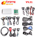 2016 новый Carprog!! Carprog V7.28 обновление V9.31 С необходимым набором 21 Адаптеры Carprog Профессиональные Carprog ЭКЮ чип инструмент настройки