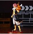 Anime PVC 1/7 Fairy Tail Natsu Dragneel Natsu Dragnir Action Figure Modelo de Brinquedo Coleções Decoração Presente de natal 23 cm