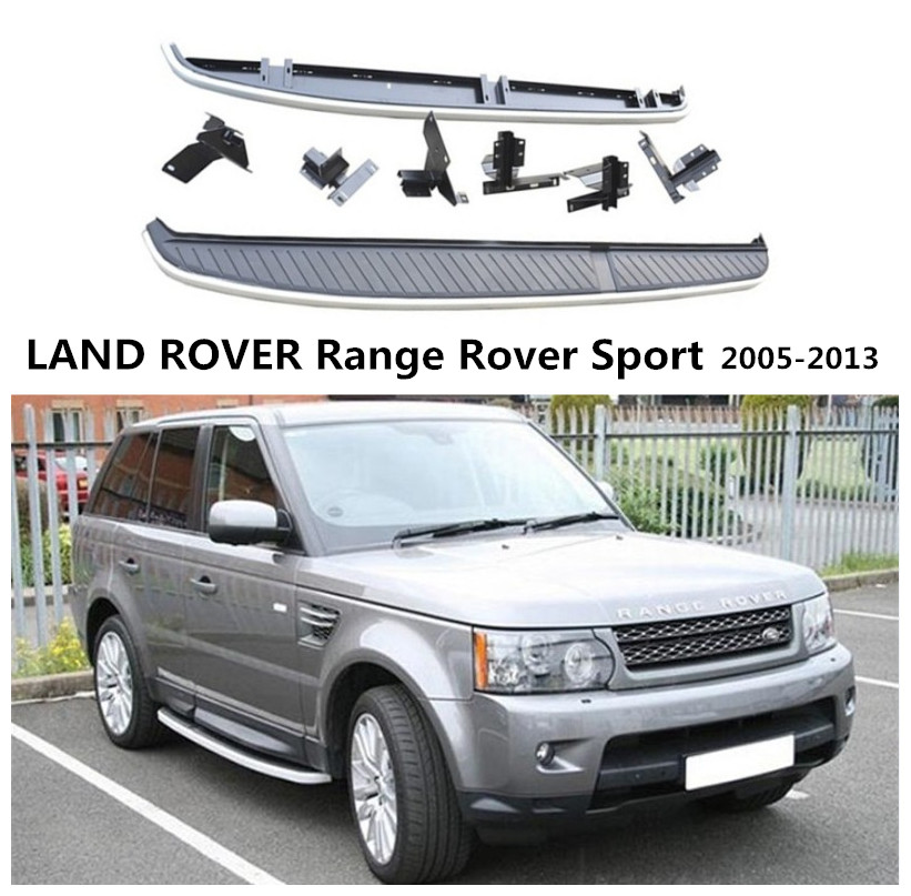For LAND ROVER Range Rover Sport 2005 2013 Running Boards Side Step Bar Pedals High Quality Nerf Bars Car Accessories