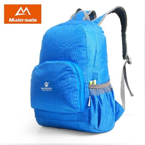 Prix pour Maleroads ultra-léger pliage en plein air portable sac voyage randonnée sac en nylon imperméable à l'eau sac à dos jour sacs pour vélo sac mls2455