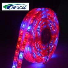5050 SMD 5M LED Grow Lamp Full Spectrum LED Strip Light IP33 IP65 DC12V 300 LEDs Growth Lamp Phytolamp For Greenhouse Plant Room