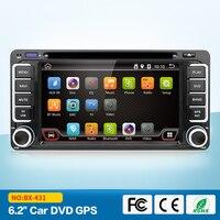 Quad Core auto dvd android 6.0 dubbel din gps navigatie Wifi + Bluetooth + Radio voor Toyota Hilux Camry Corolla Prado RAV4