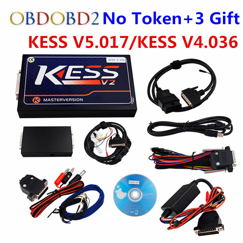 KESS V2 SW2.32 HW4.036/KESS V5.017 OBD2 Manager Tuning Kits No Token Limited KESS 5.017 Use Online ECU Programmer Master Version 2017 online ktag v7 020 kess v2 v5 017 v2 23 no token limit k tag 7 020 7020 chip tuning kess 5 017 k tag ecu programming tool