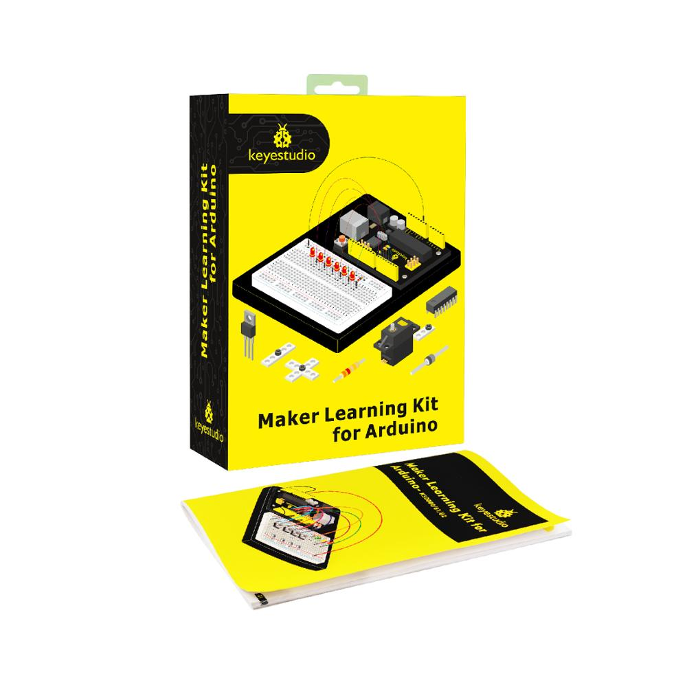 Купить с кэшбэком Keyestudio Maker Starter Kit For Arduino Education Project+MEGA 2560 R3 +User Manual+1602LCD+Chassis+PDF(online)+35Project+Video