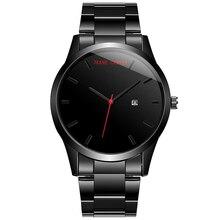 2018 Fashion Large Dial Military Quartz Men Watch Stainless Steel Sport Calendar watches Clock Wristwatch Relogio Masculino JC-6 цена и фото