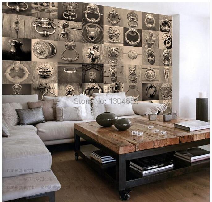 Aliexpress 3d Wallpaper Free Shipping Custom 3d Retro Wallpaper Murals Office Bar