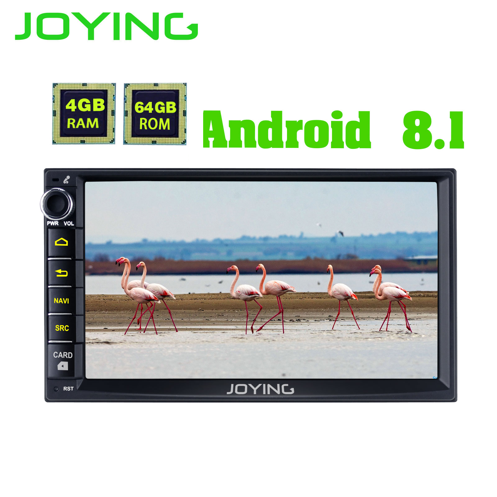 JOYING 4GB RAM 2 din 7 inch 8 core Android 8 1 car autoradio for Nissan