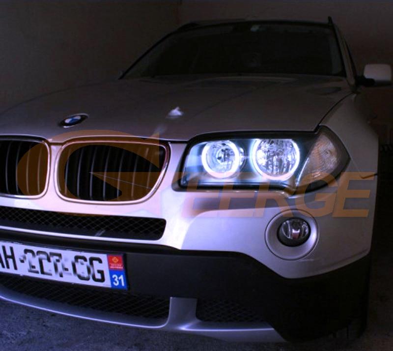 BMW E83 X3 2003-2010 cob led angel eyes(4)