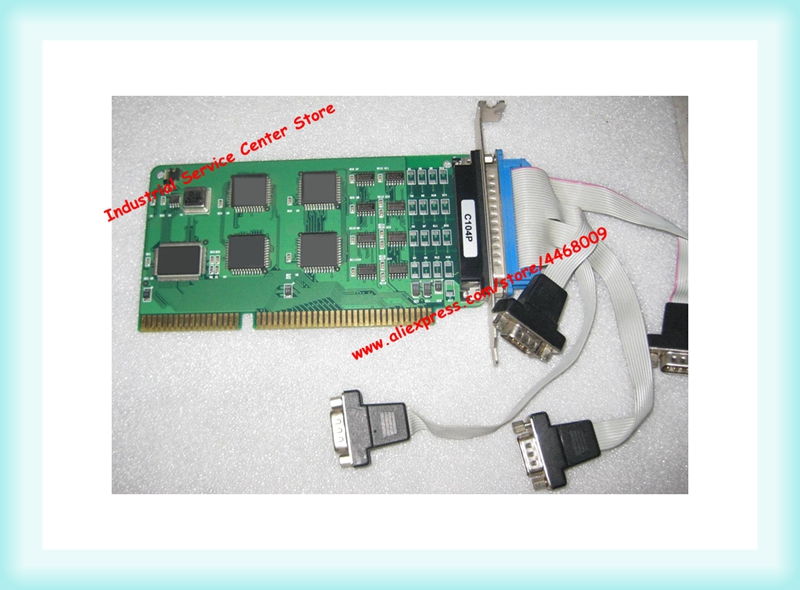 C104P 4-port 232 porta seriale scheda ISA interfaccia con la lineaC104P 4-port 232 porta seriale scheda ISA interfaccia con la linea