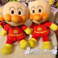 38CM 68CM Bread Superman Plush Soft Toys Anpanman Dolls Super Cute Baby Kids Children Cartoon Gift
