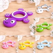 2017 Safety Tortoise Baby Kids Food Grade Silicone Soother Teether Teething Pacifier  NOV6_15