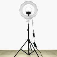 384 pcs Super Lumineux LED Photographie La Lumière Dimmable Caméra Anneau Vidéo Lumière Lampe Pour Maquillage Studio/Vidéo/Photo