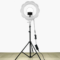 384pcs Super Bright LED Photography Light Dimmable Camera Ring Video Light Lamp For Makeup Studio/Video/Photo