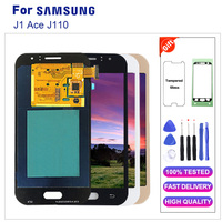 Original Super Amoled LCD for Samsung Galaxy J1 Ace J110 J110H J110F J110M LCD Display+Touch Screen Digitizer Assembly +Tools