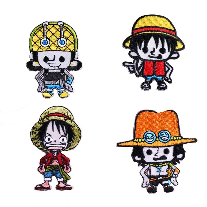Patch-Figure-Toys Action-Gift Monkey One-Piece Luffy Portgas.d.ace Tonytony.chopper Decoration