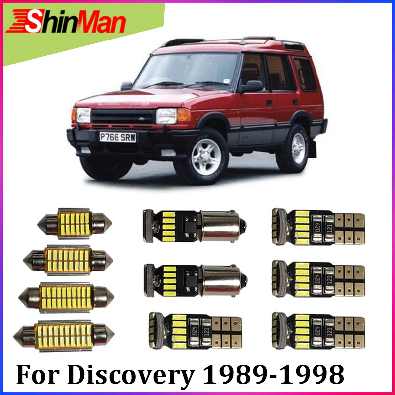 1998 Land Rover Discovery Interior: ShinMan16x Error Free LED CAR Lights Interior Light LED