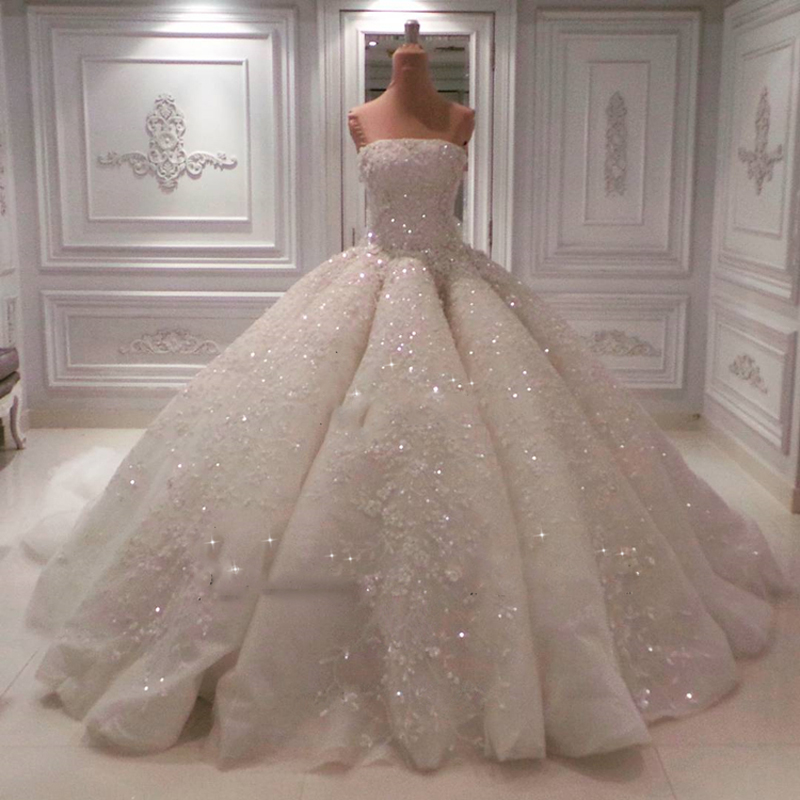 Buy goregous 2017 dubai blingbling for Cheap wedding dresses in dubai